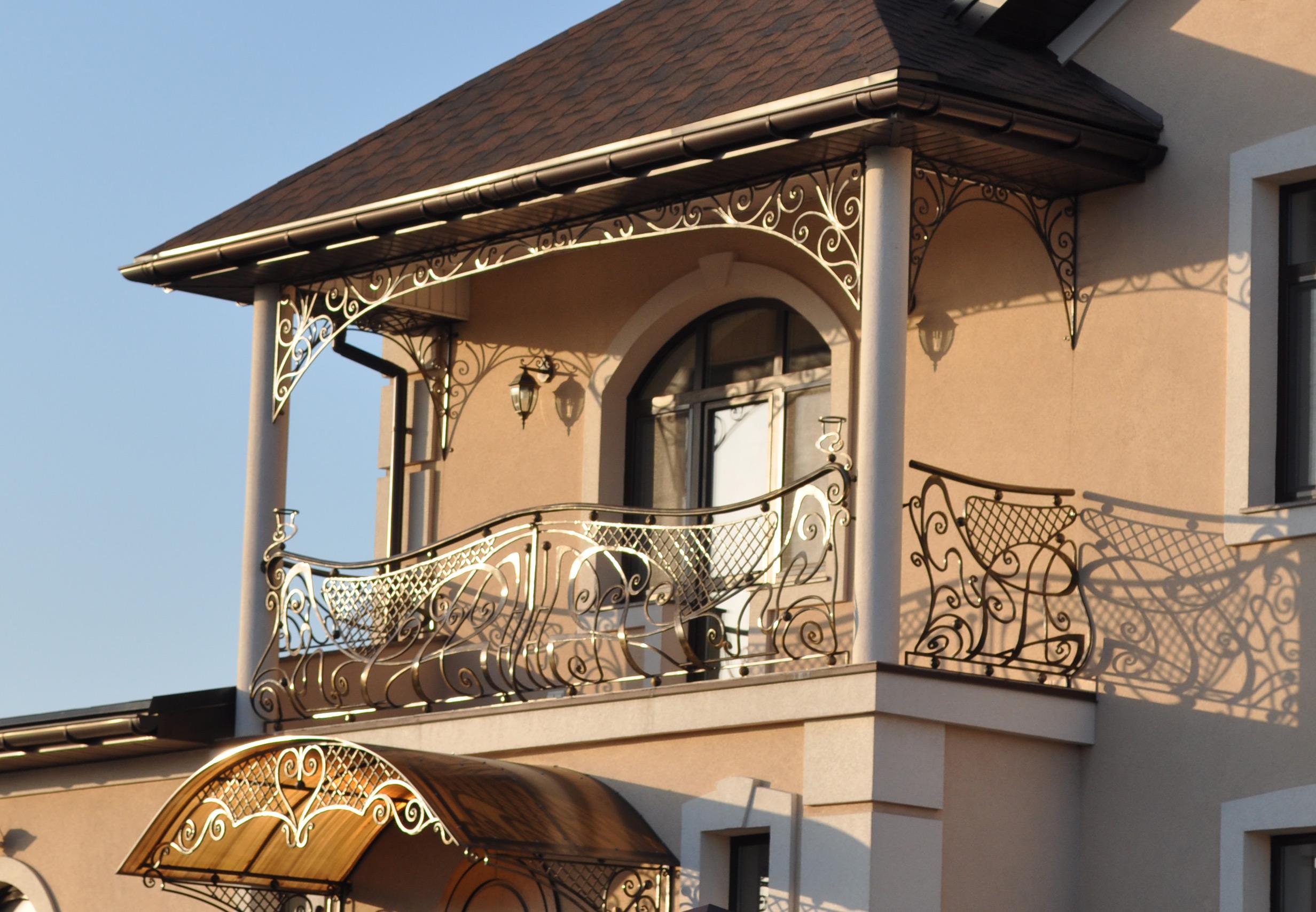 Кованые балконные ограждения в санкт-петербурге производство.